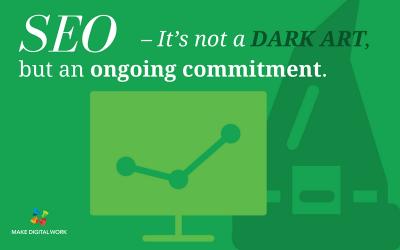 SEO – It's not a dark art, but an ongoing commitment